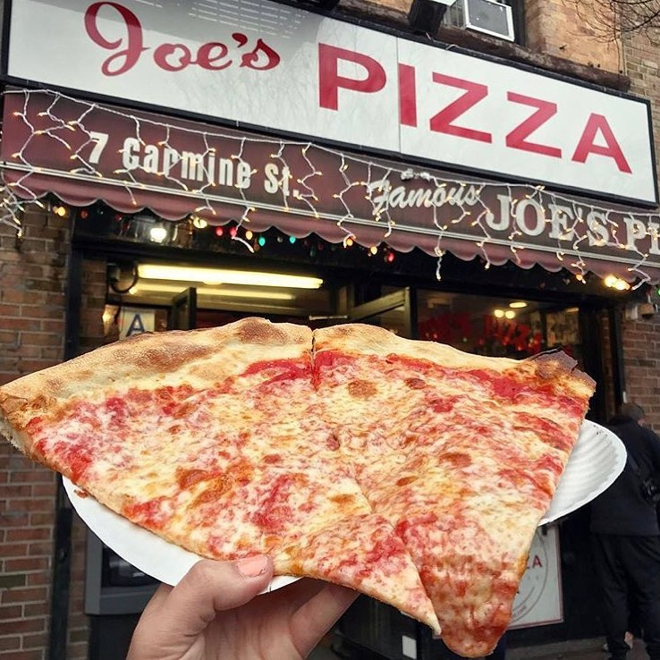 Best NYC Slice joes-pizza