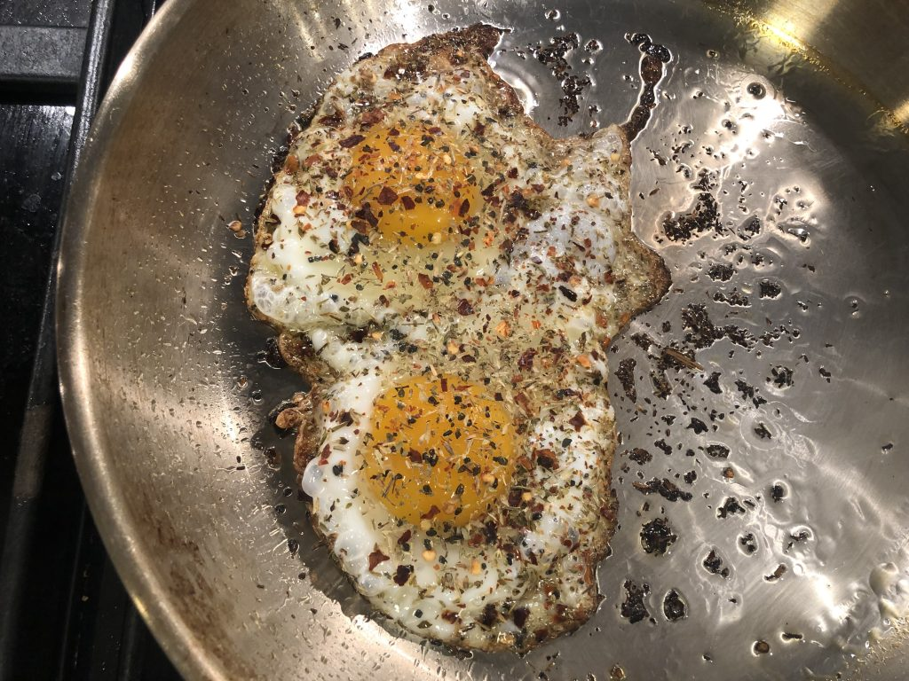 Cooked Seasoned Eggs