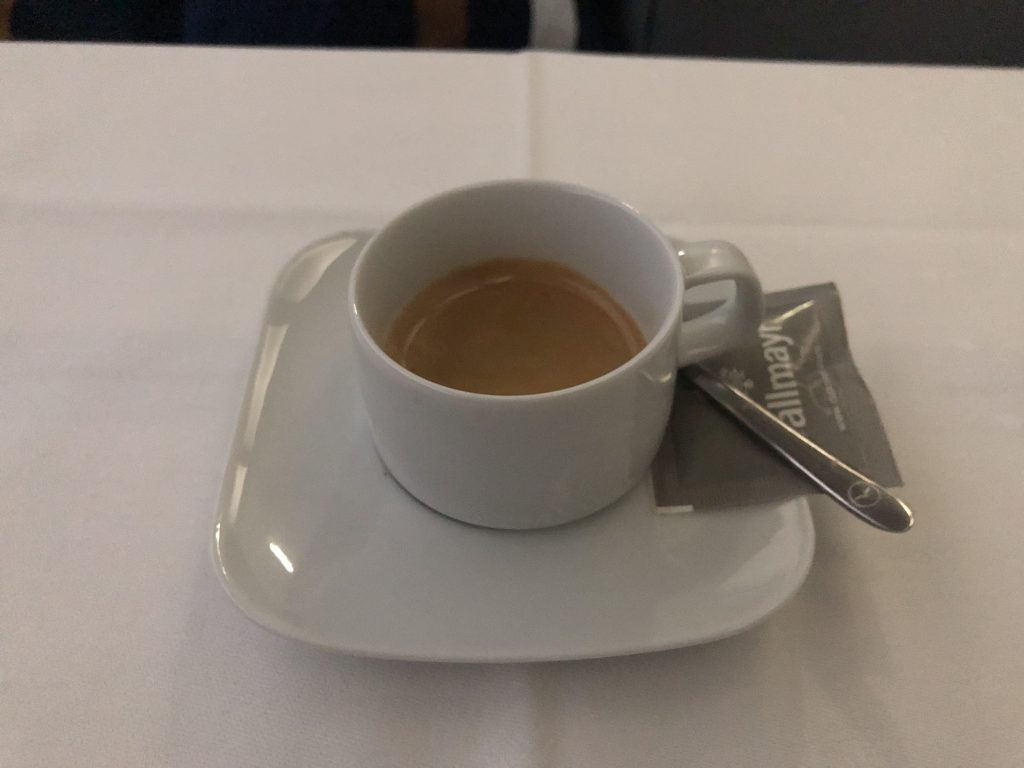 Lufthansa Flight Espresso