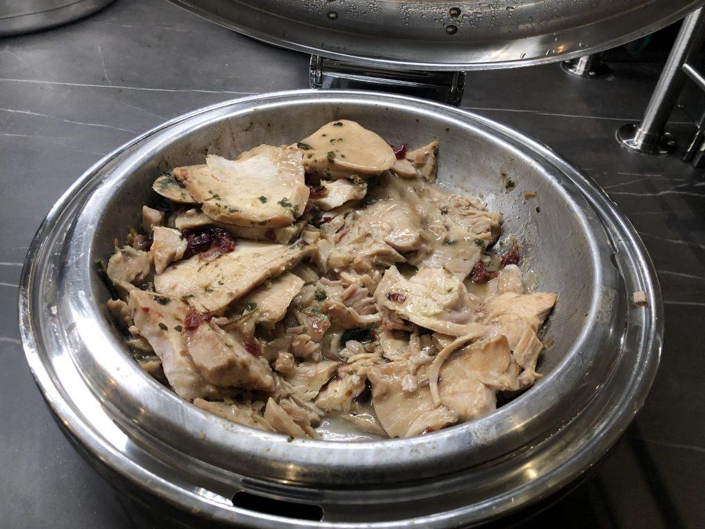 Hot Bar Turkey Dish