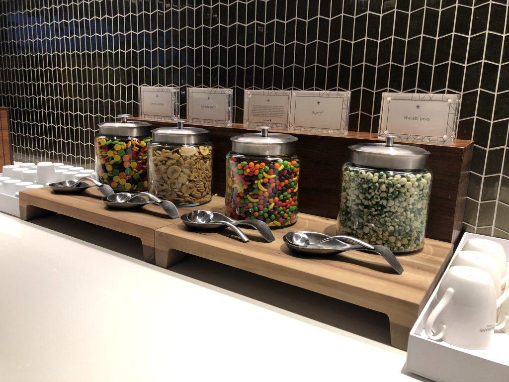 United Polaris Lounge Candy Station