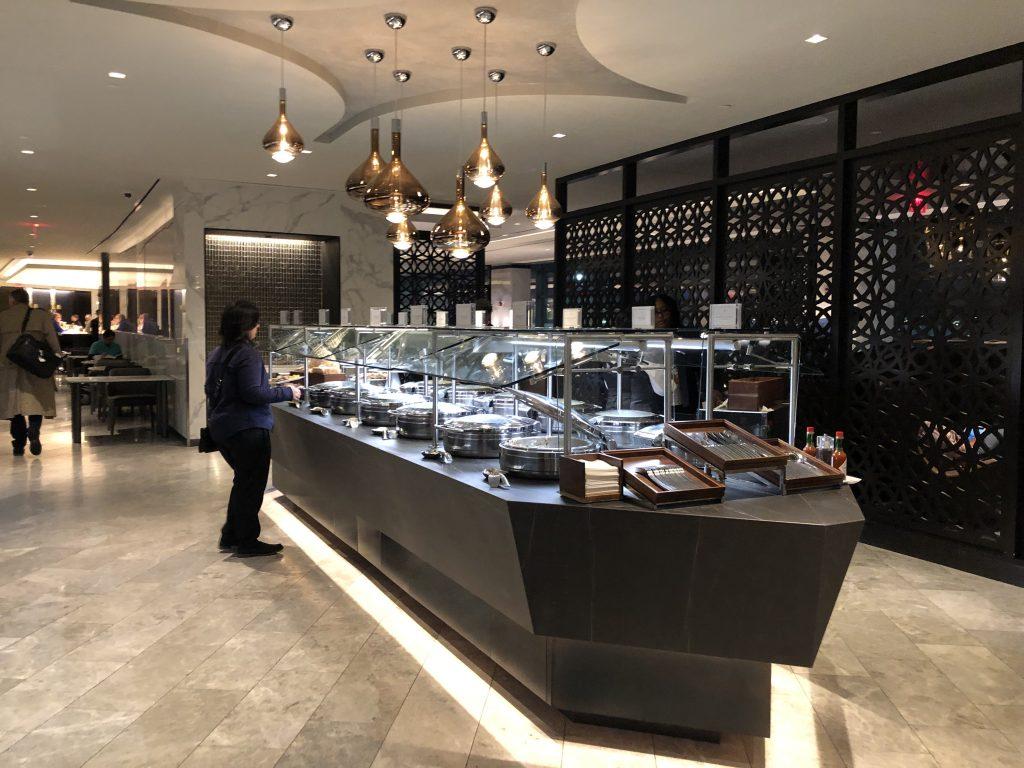 United Polaris Lounge Buffet