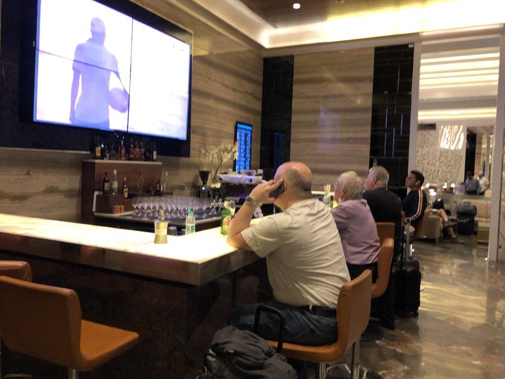 GVK Lounge bar