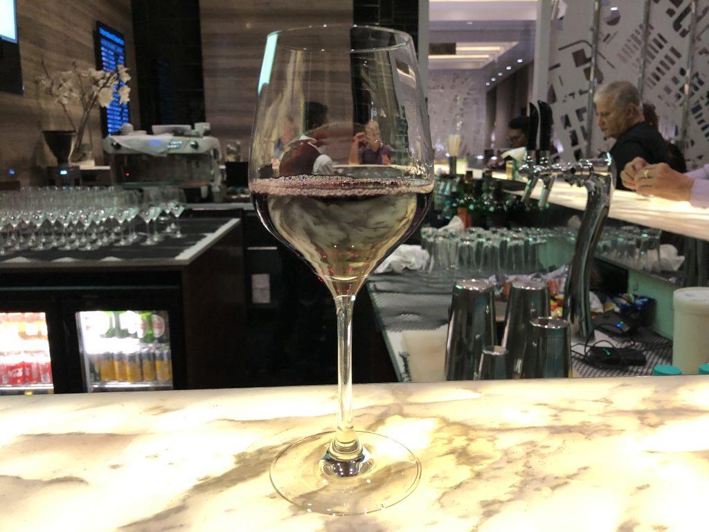 GVK Lounge wine