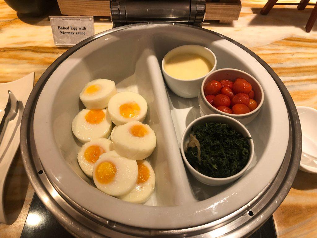 Singapore Changi western breakfast