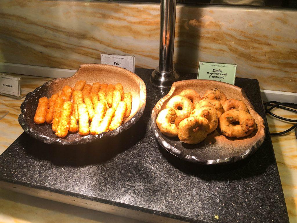 Changi Airport Singapore Western Breakfast