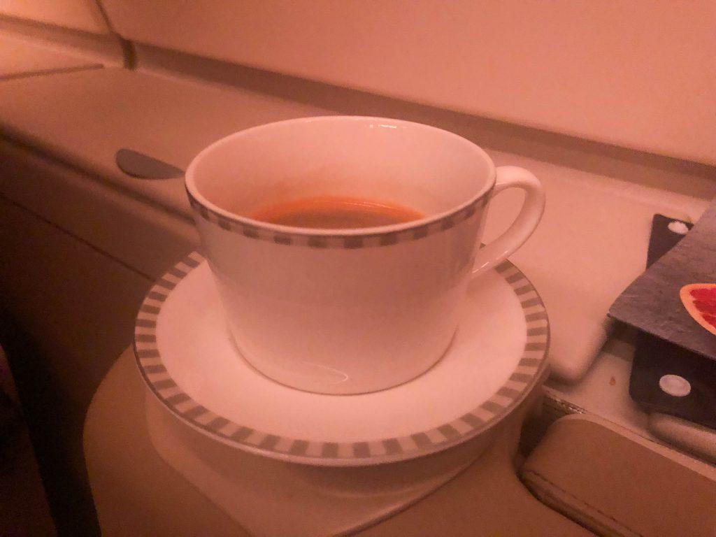 Singapore airlines a380 espresso