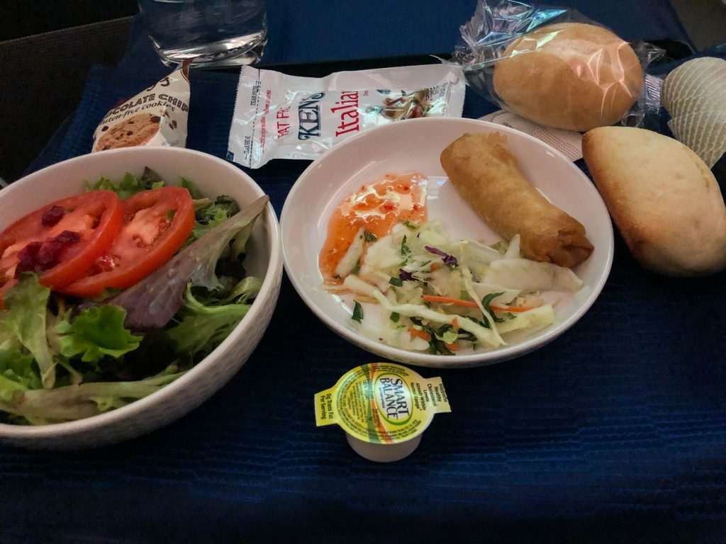 United Polaris Vegetarian Option