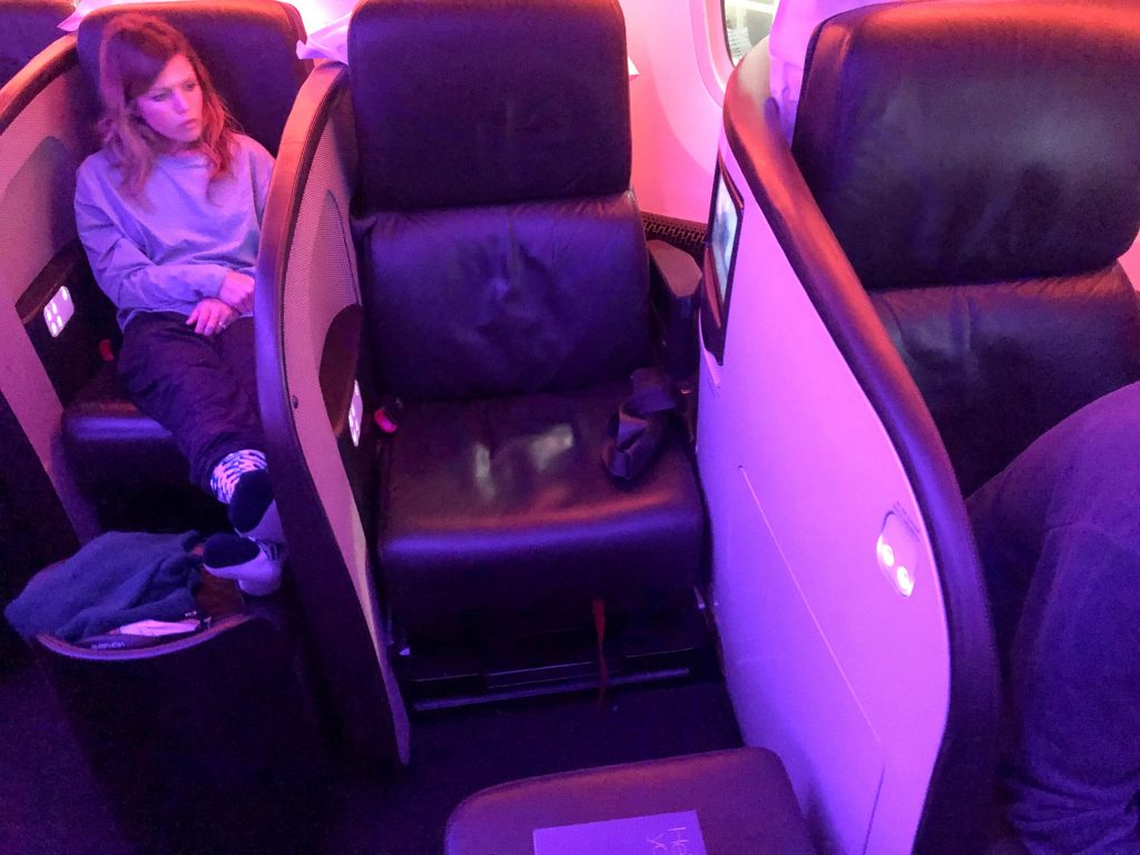 Virgin Atlantic Business Class Seat