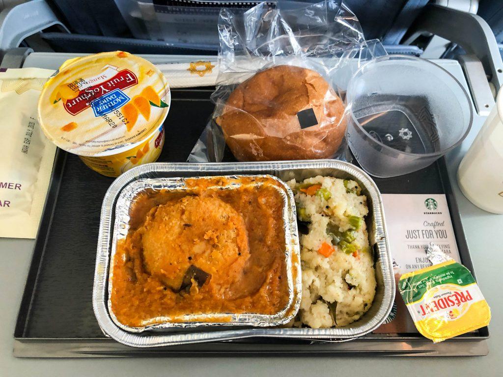 Vistara Airlines food