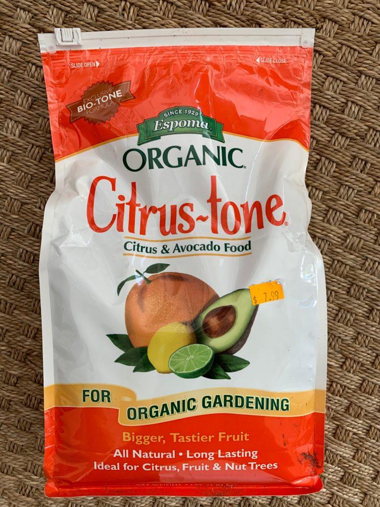 Fertilizer for Citrus Tree Growth