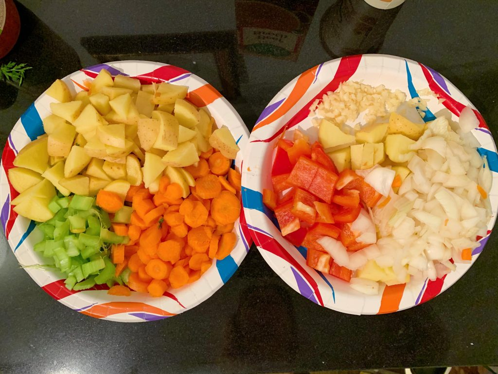 Easy Crock Pot Beef Stew Vegetables