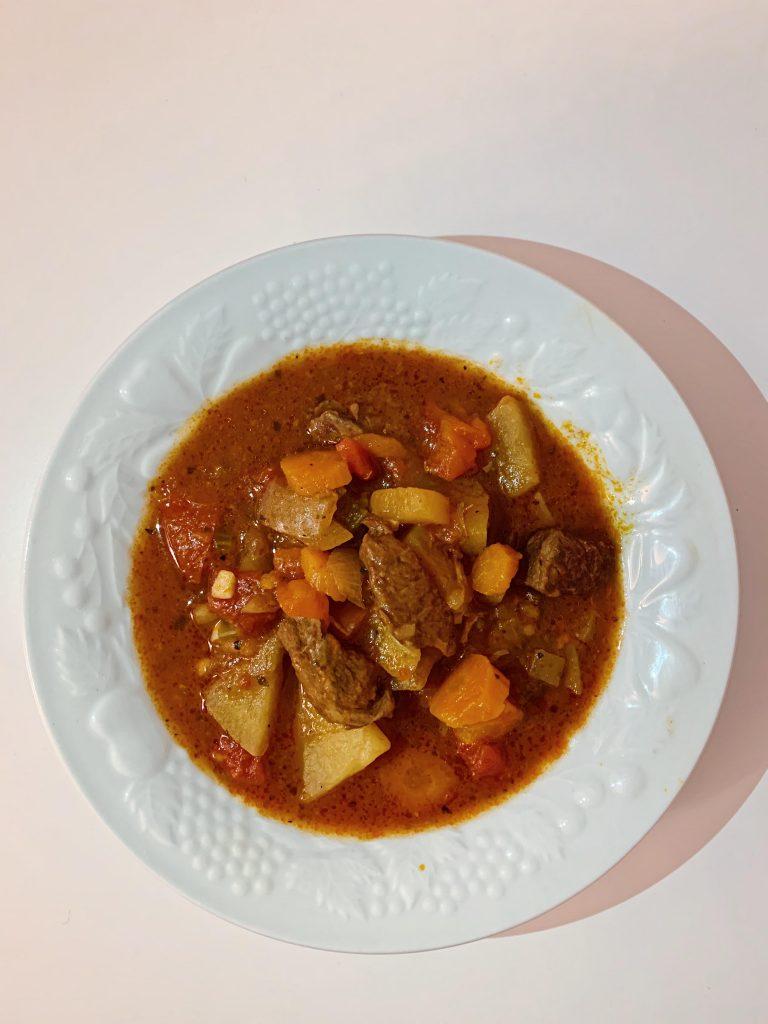 Easy Crockpot Beef Stew