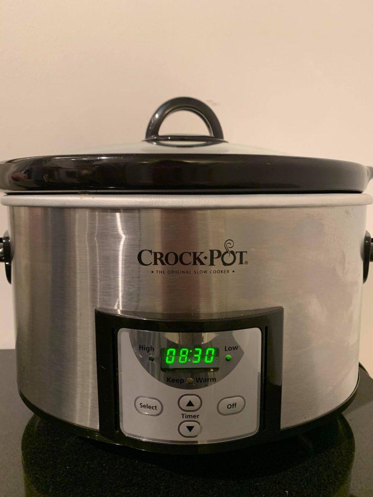 Beef Stew Cooking Settings