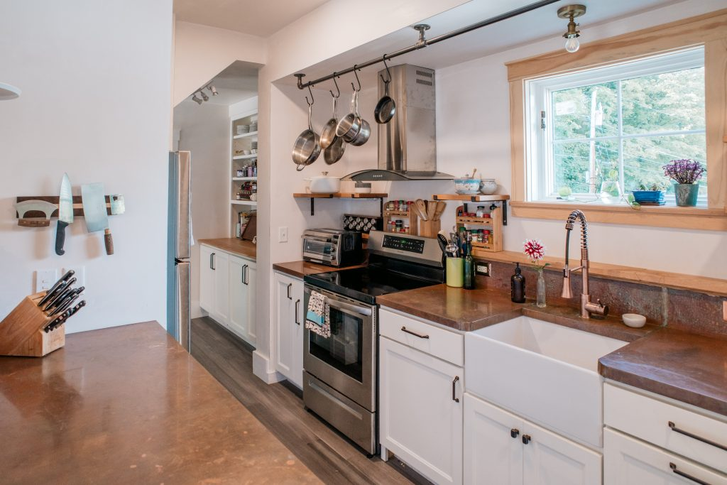Eco-friendly kitchen renovation