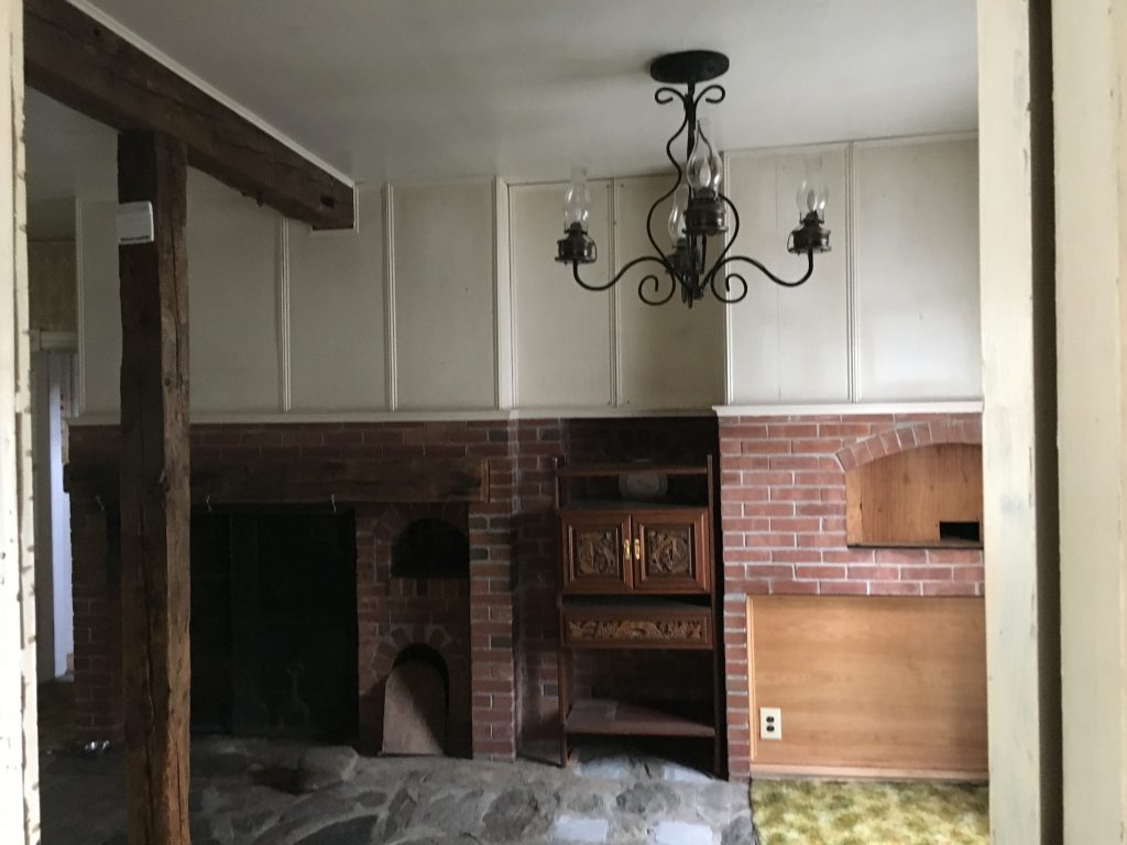 Kitchen Renovation Space