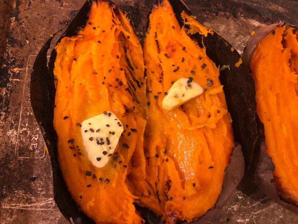 sweet potato butter salt