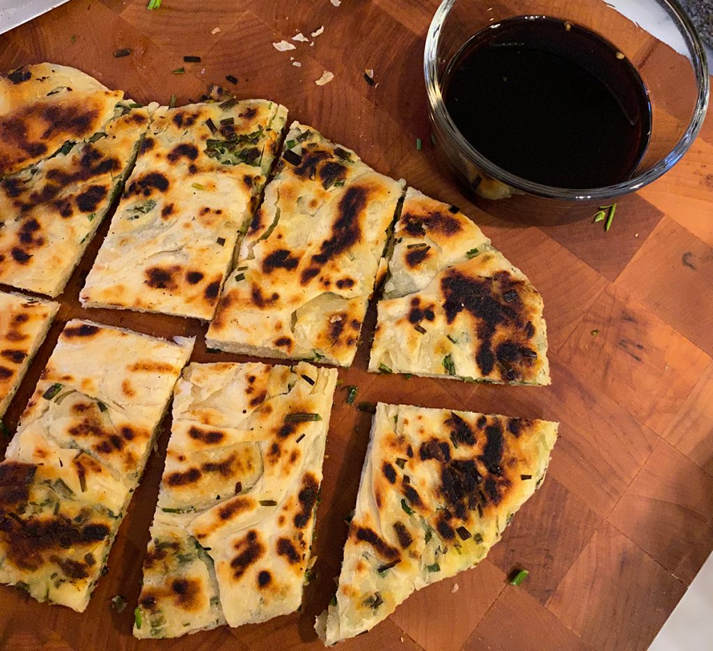 flaky scallion pancake cover