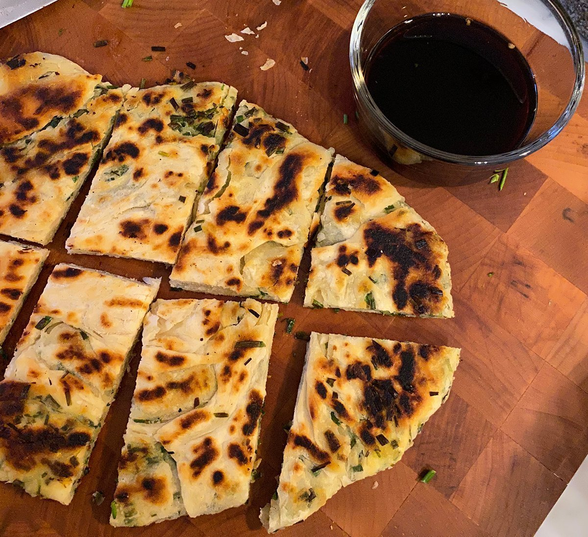 How To Make Flaky Scallion Pancakes