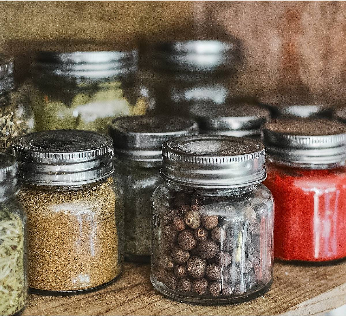 Sealed Kitchen Spices