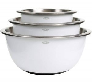 Oxo Stainless Steel Mixing Bowl set