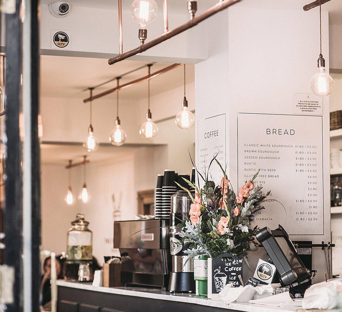 start a coffee shop