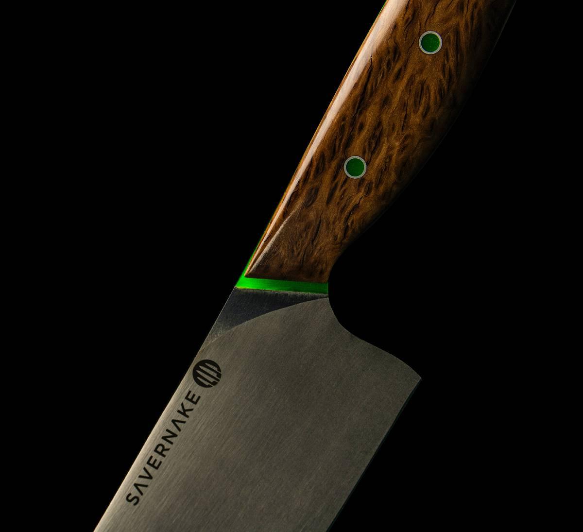 Savernake Chefs Knife Closeup