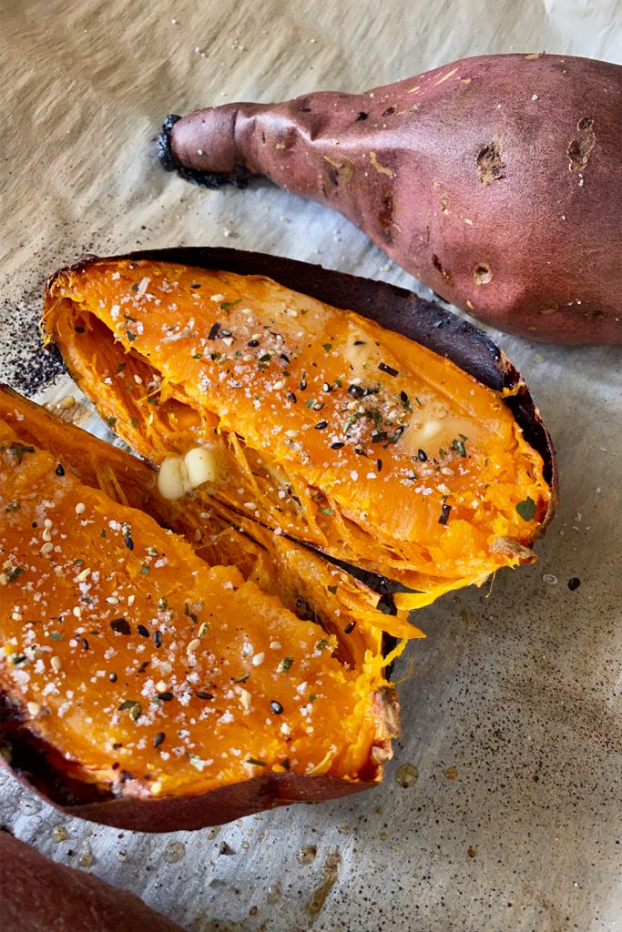 roasted sweet potato recipe 1